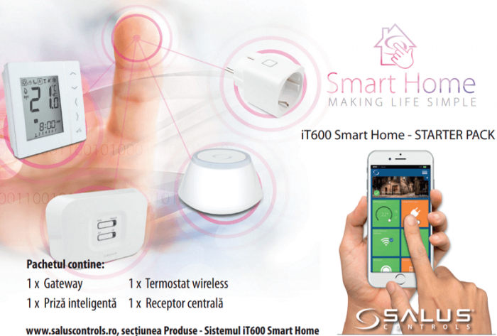 Pachet Smart Home Salus iT600 0