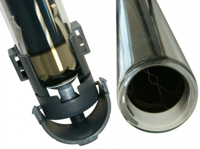 Panou solat cu tuburi vidate tip heat pipe Westech WT-B cu heat pipe marit 2