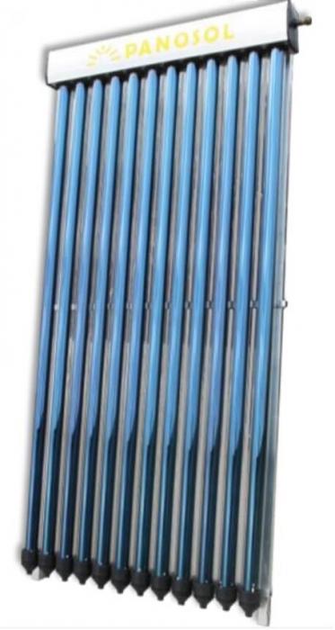 Panou solar cu tuburi vidate tip heat-pipe, presurizat, panosol 15 tuburi 0