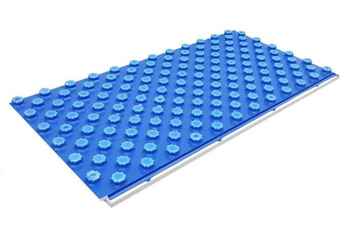 Placa cu nuturi autoadeziva Uponor Tecto cu grosime de 52 sau 30 mm 0