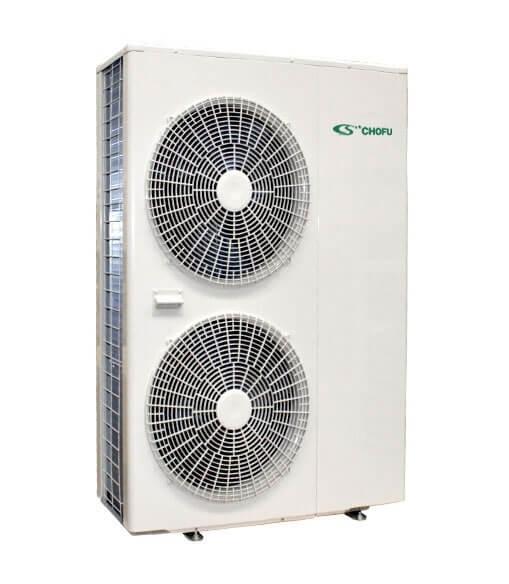 Pompa de caldura aer-apa Chofu 16 kW incalzire si racire si preparare ACM 0