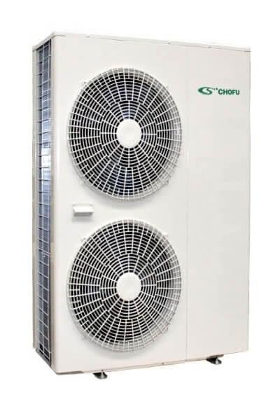 Pompa de caldura aer-apa Chofu 12 kW incalzire si preparare ACM 0