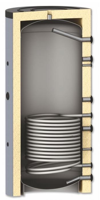 Rezervor de acumulare pentru sisteme de incalzire - 1000l cu serpentina 0