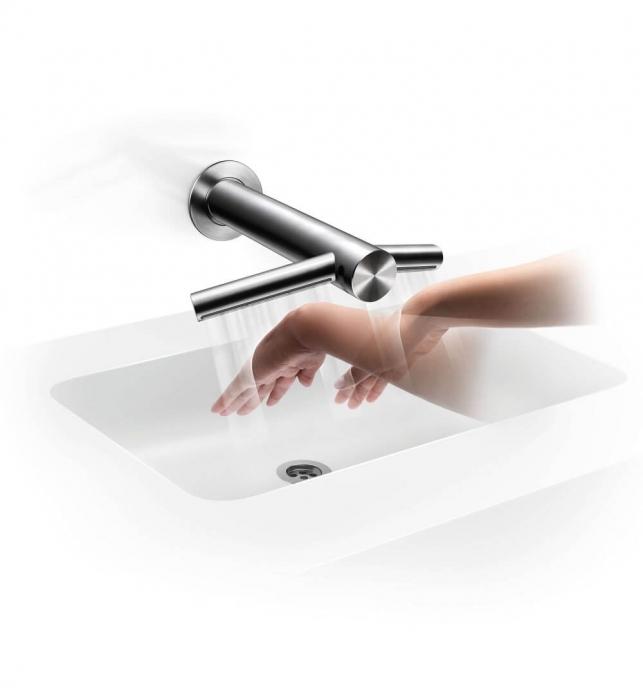 Uscator de maini incorporat in robinet cu senzor 1