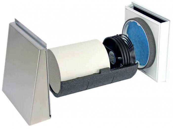 Unitate descentralizata de ventilatie cu recuperare de caldura 0