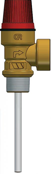 "Supapa combinata temperatura si presiune Watts MSL/PT 3/4"" 0"