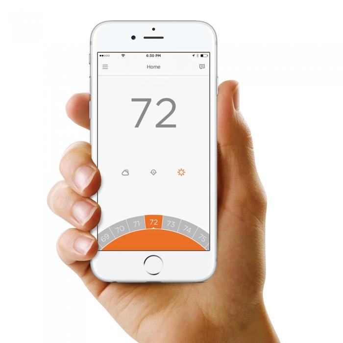Termostat de camera inteligent, cu fir, Honeywell Lyric T6 controlabil prin internet 2