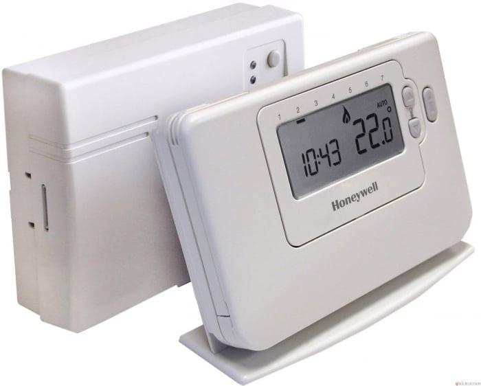 Termostat de camera fara fir, programabil Honeywell CMT 727 D 1016 0