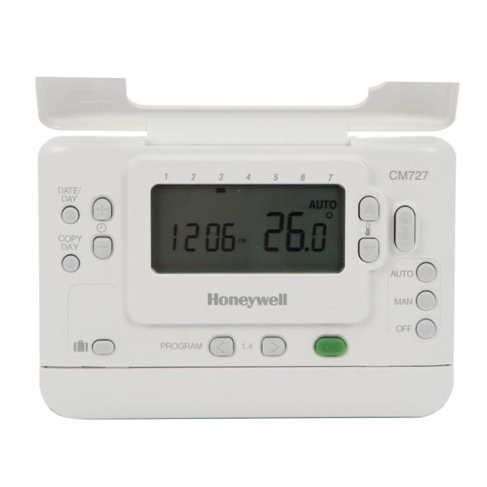 Termostat de camera fara fir, programabil Honeywell CMT 727 D 1016 1