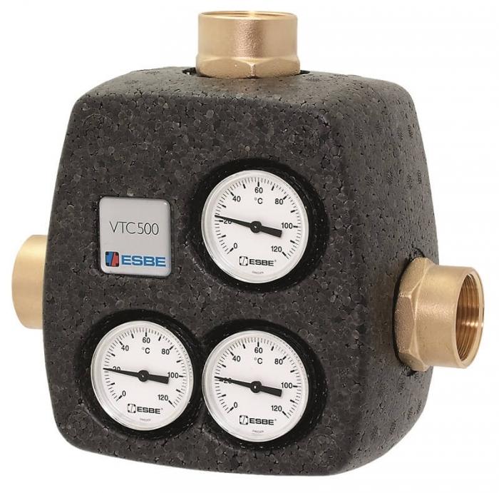 Ventil termic de amestec pentru centrale pe lemne VTC 531 50/60 0