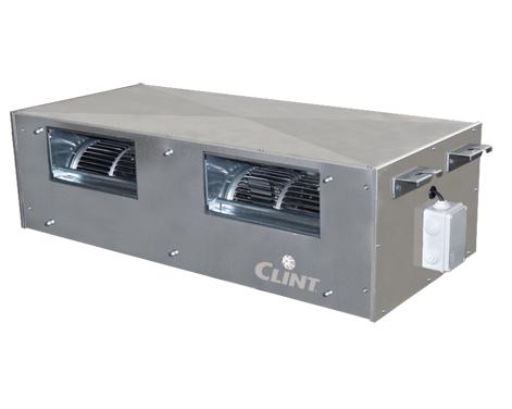Ventiloconvector pentru tubulatura Clint UTW cu disponibil marit de presiune 0