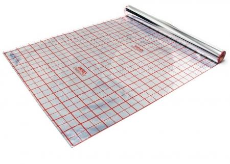 Folie cu aluminiu TECEfloor trasata, 52mp0