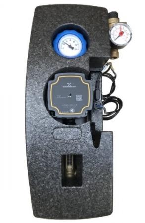 Grup de pompare simplu pentru instalatii solare cu pompa Grundfos UPM3 [1]