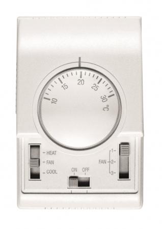 Termostat Flowair TS, 230 V, reglaj 3 trepte de debit
