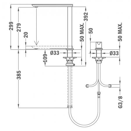 Baterie de bucatarie Teka FO 985 [1]