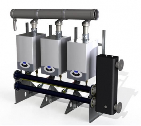 Centrala termica Ariston Genus Premium Evo HP 65 kW, doar incalzire1