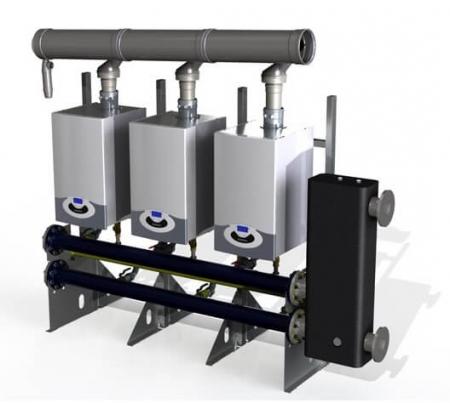 Centrala termica Ariston Genus Premium Evo HP 150 kW, doar incalzire1