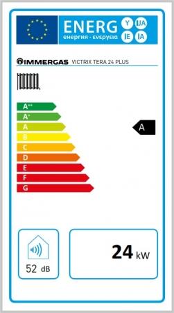Centrala termica in condesare Immergas Victrix Tera 24 Plus - numai incalzire3