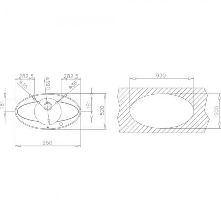 Chiuveta din inox si sticla securizata de culoare neagra + baterie cu teava inalta cu Touch control Teka i-Sink 95 DX4