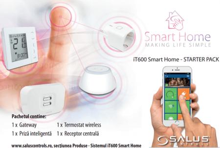 Pachet salus iT600 smart home cu control prin internet0