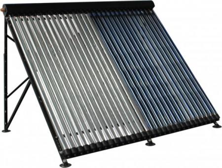 Panou solar cu tuburi vidate si oglinda CPC integrata Westech HY-H58 cu 10 tuburi, 780kW/h/m²/an4