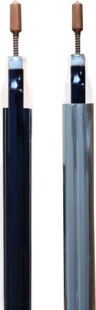 Panou solar cu tuburi vidate si oglinda CPC integrata Westech HY-H58 cu 10 tuburi, 780kW/h/m²/an1