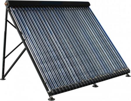Panou solar cu tuburi vidate si oglinda CPC integrata Westech HY-H58 cu 10 tuburi, 780kW/h/m²/an5