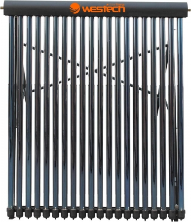 Panou solar cu tuburi vidate si oglinda CPC integrata Westech HY-H58 cu 30 tuburi, 780kW/h/m²/an0