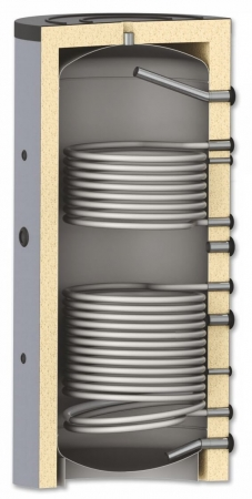 Rezervor de acumulare pentru sisteme de incalzire - 1500l cu 2 serpentine [0]