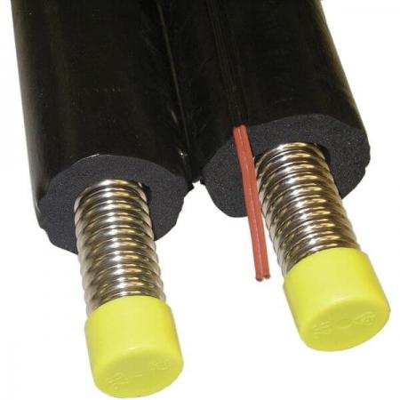 Teava flexibila de inox izolata pentru sisteme de panouri solare - DN 162