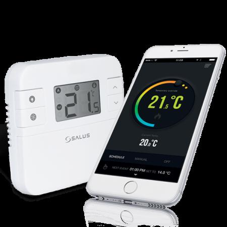 Termostat controlabil prin internet salus RT310i [0]