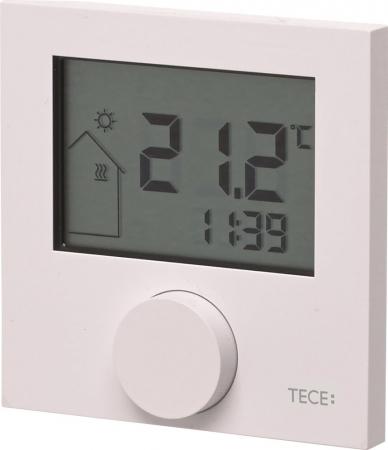 Termostat de ambient TECEfloor RT-D, cu afisaj LCD, 230V