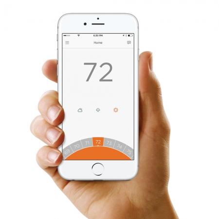 Termostat de camera inteligent, cu fir, Honeywell Lyric T6 controlabil prin internet2