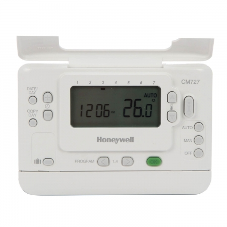Termostat de camera fara fir, programabil Honeywell CMT 727 D 10161