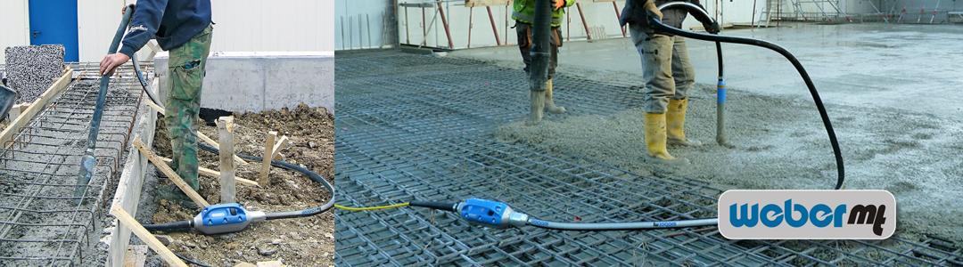 Vibratoare de beton