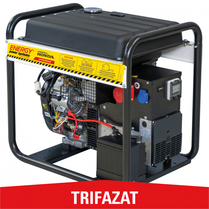 Generator de curent trifazat Energy 13000 TVE, 12,5 kVA [0]