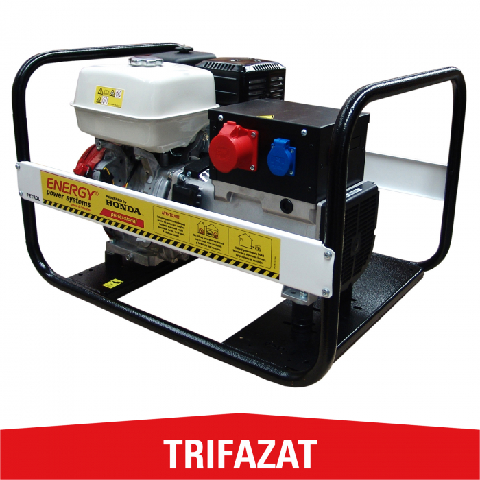 Generator de curent trifazat Energy 8000 TH, 7,7 kVA [0]