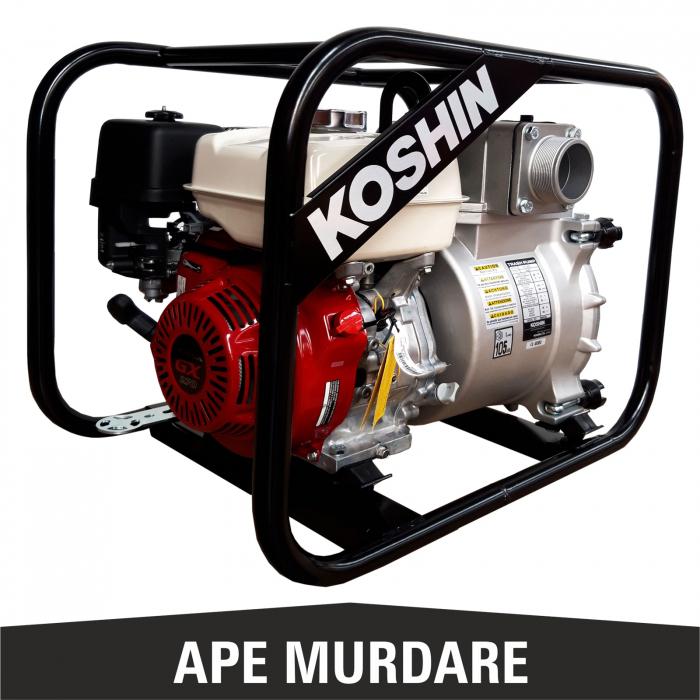 Motopompă pentru ape murdare KOSHIN KTH-80S, 3 țoli [1]