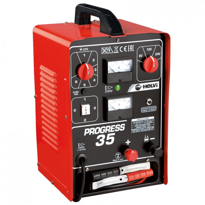 Încărcător pentru baterii Helvi PROGRESS 35 monofazic [0]