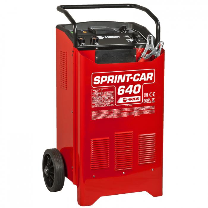 Încărcător pentru baterii și starter Helvi SPRINT CAR 640 monofazic [0]