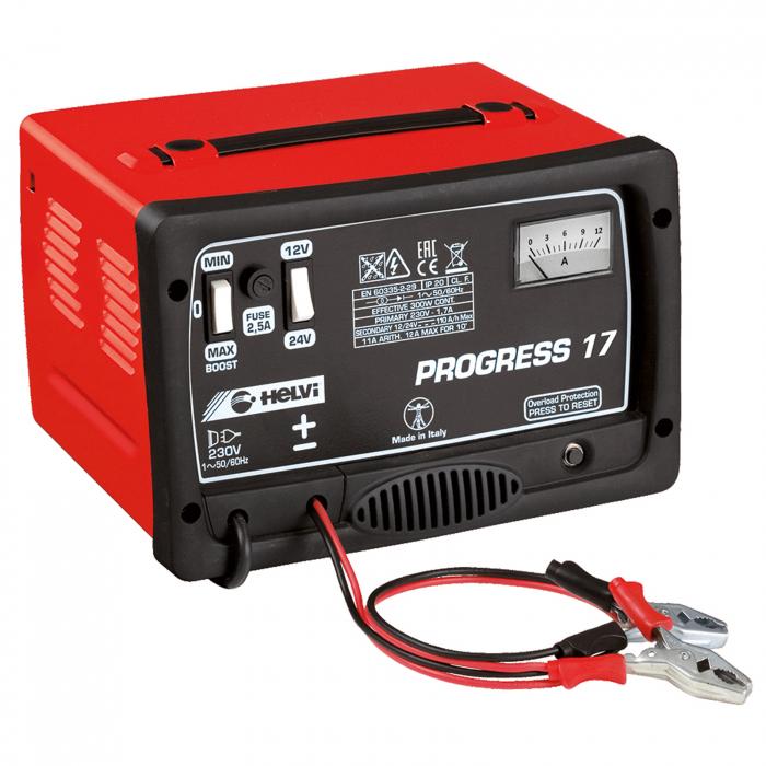 Încărcător pentru baterii Helvi PROGRESS 17 monofazic [0]