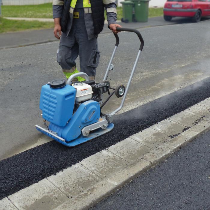 Placă vibrantă pentru asfalt CF 2A Hd [2]