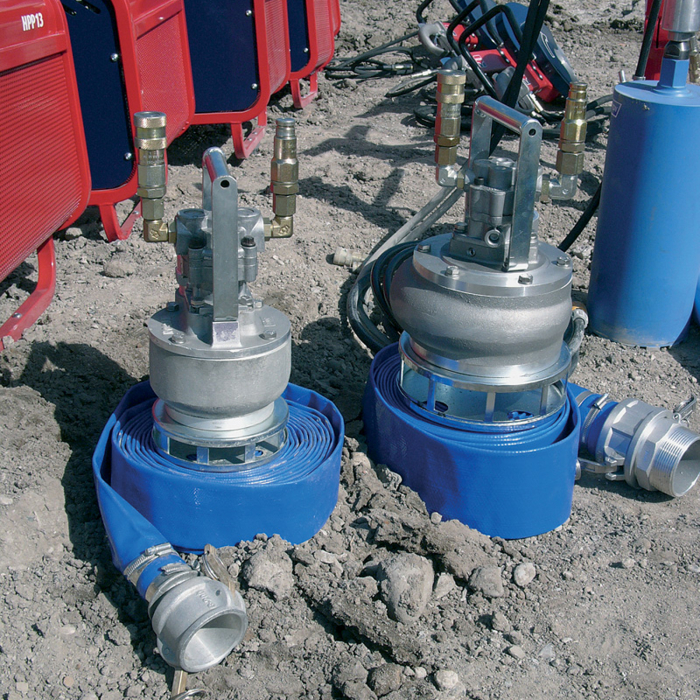 Pompă submersibilă acționată hidraulic Hycon HWP 3 țoli [3]