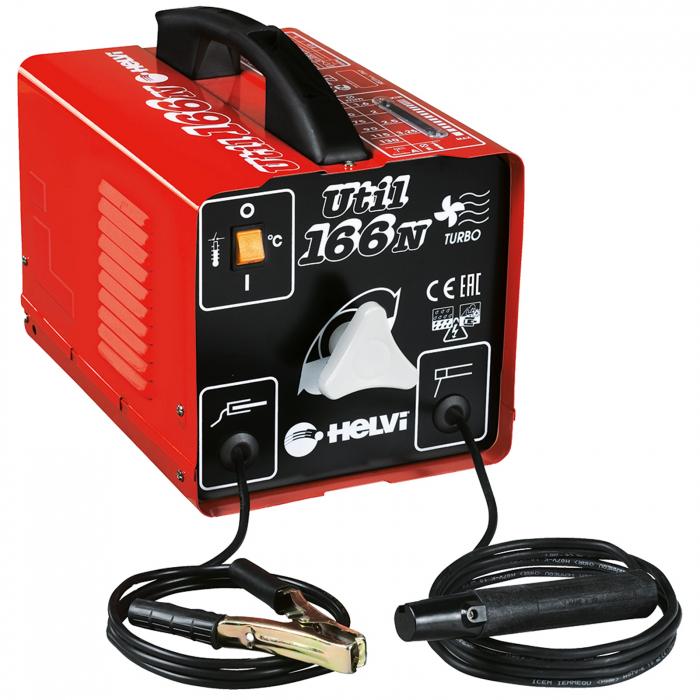 Transformator de sudură portabil Helvi Util 166N, monofazic [0]
