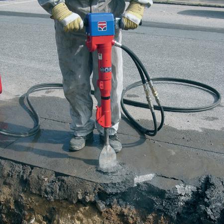 Ciocan hidraulic Hycon HH 23, prindere H 25 x 108 mm [2]