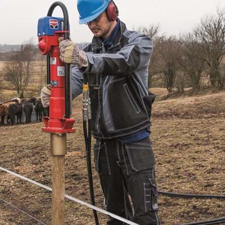 Echipament hidraulic pentru bătut stâlpi în pământ Hycon HPD [4]