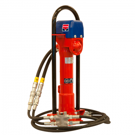 Echipament hidraulic pentru bătut stâlpi în pământ Hycon HPD [1]