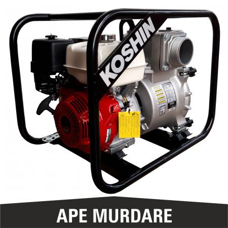 Motopompă pentru ape murdare KOSHIN KTH-100S, 4 țoli [1]