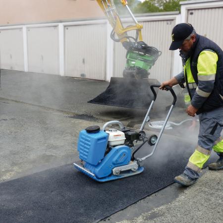 Placă vibrantă pentru asfalt CF 2A Hd [1]