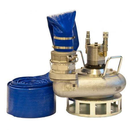 Pompă submersibilă acționată hidraulic Hycon HWP 4 țoli [0]